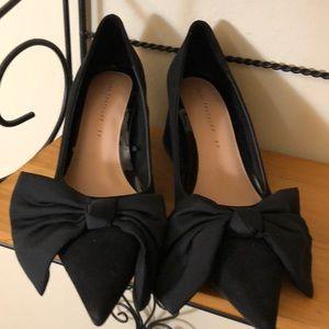 Zara New Bow Heel - Sz 37